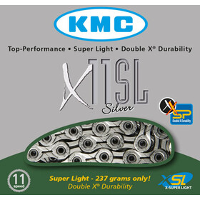 KMC X-11-SL Bicycle Chain 11-speed 118 links silver
